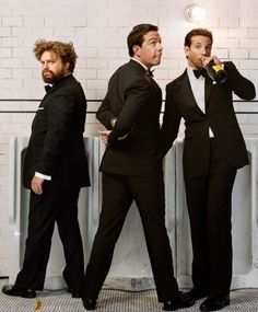 The Hangover Guys. Zach Galifianakis, Ed Helms, and Bradley Cooper. Martin Schoeller, Zach Galifianakis, Ed Helms, Three Best Friends, Portraits, Comedy Movies, Music Tv, Man Humor, Movies Showing