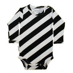 Lastenvaatteet - Metsola AW15-16: Lollipop Bodystocking (Black/White) 56 - 92 cm - Bodyt, potkuhousut, kokopuvut - Lapset - Lasten Metsola Oy verkkokauppa - Lasten vaatteet