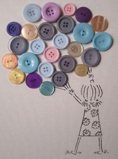 Vous collectionnez les boutons ? Voici 12 bricolages originaux pour en faire des…