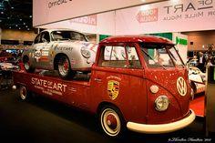 Porsche 356 and VW Porsche Transporter