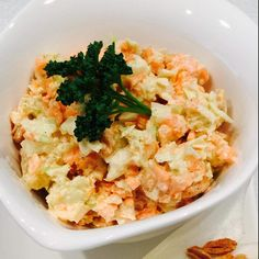 Rezept Ananas-Karotten-Kohl-Salat mit Erdnüssen von CoRiña77 - Rezept der Kategorie Vorspeisen/Salate