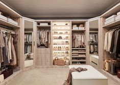 Neville Johnson has over 30 years' in creating innovative fitted furniture. We have stunning collections of fitted furniture and staircase renovations. Walk In Closet Design, Bedroom Closet Design, Master Bedroom Closet, Closet Designs, Bedroom Storage, Bedroom Decor, Fancy Bedroom, King Bedroom, Wardrobe Design