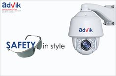 Safety in Style !!! A unique combination of #safety and style makes this #PTZcamera with 30x optical zoom a very popular choice among security professionals.More at:http://advik.net/…/professional-ptz-camera-with-300-mtrs-ir…