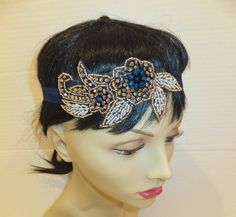 Flapper Style Headband 20's Headpiece Great by BellaCescaBoutique, $30.00