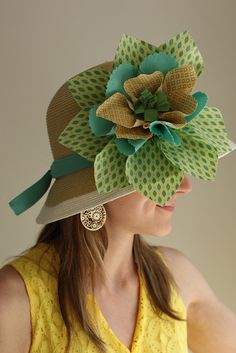 Someday, I'll wear a hat like this at the Kentucky Derby.