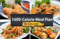 Enjoy the recipes included in the 1600-calorie plan below. Click Here for The Total Choice 1200-Calorie Meal Plan. Breakfast Recipes: Breakfast is an impor