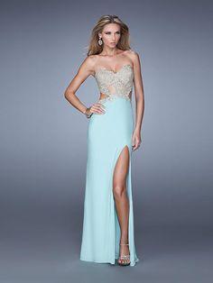 sexy evening dress, baby blue evening dress, 2016 evening dress
