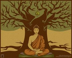 bodhi tree buddha - Google Search