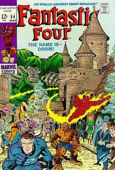 Fantastic Four # 84 by Jack Kirby & Joe Sinnott