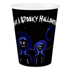 """""""Have A Spooky Halloween"""" Paper Cup - halloween decor diy cyo personalize unique party"""