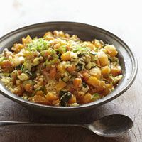 Moroccan Couscous with Saffron--from Alicia Silverstone's Kind Diet vegan book