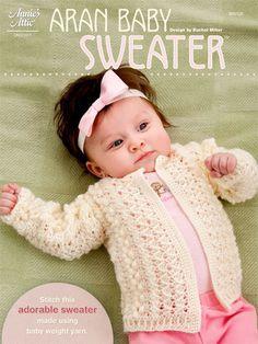 Crochet - Children & Baby Patterns - Sweater Patterns - Aran Baby Sweater