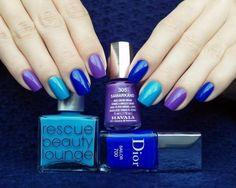 Uñas Colorful Nail Designs, Nail Art Designs, Fancy Nails, Pretty Nails, Hair And Nails, My Nails, Acryl Nails, Nail Polish Art, Shellac Nails