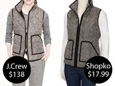 J.Crew Vest - Shopko Vest | They were ALL sold out! I Will Stalk This Website Until It Is Available!