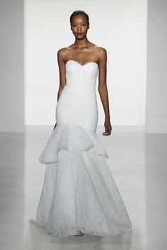 Don't you love it when designers name their gowns?  Meet Devyn (Amsale Fall 2014)