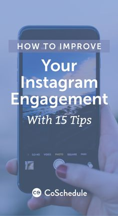 Your ultimate guide to marketing on Instagram! http://coschedule.com/blog/instagram-engagement-tips/?utm_campaign=coschedule&utm_source=pinterest&utm_medium=CoSchedule&utm_content=How%20to%20Improve%20Your%20Instagram%20Engagement%20With%2015%20Tips