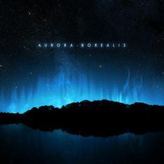 Aurora Borealis, by Widek - Lance Umbra - Aurora Borealis, by Widek Aurora Borealis cover art - Rock Album Covers, Post Metal, Dark Matter, Aurora Borealis, Skylight, Third Eye, Cover Art, Music, Albums