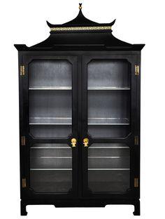 1stdibs | Chinoiserie Vitrine armoire