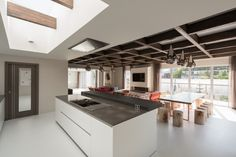 Two-bedroom penthouse constructed on a Cross-Laminated Timber frame