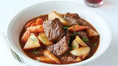Beef Stew with Root Vegetables Recipe | Ree Drummond | Food Network Vegetable Recipes, Beef Recipes, Pioneer Woman Recipes, Best Beef Stew Recipe Pioneer Woman, Pioneer Women, Beef Stew Meat, Roast Beef, Root Vegetables, Meat Recipes