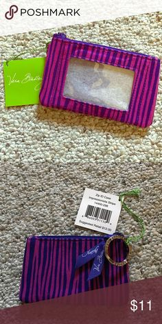 Vera Bradley Zip ID case Brand new with tags wallet Vera Bradley Bags Wallets