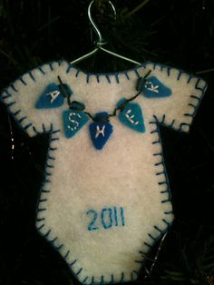 Baby's first Christmas ornament | Flickr - Photo Sharing!