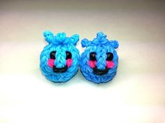 Happy Blueberry Tutorial (Rainbow Loom) by Feelin' Spiffy.