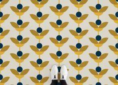 Retro Floral Vinyl Flooring, leading Vinyl Flooring designed and manufactured by Atrafloor. Bring any design concept to life as Flooring. Patterned Vinyl, Patterned Carpet, White Carpet, Linolium Flooring, Retro Vinyl Flooring, Flooring Tiles, Dark Flooring, Bedroom Flooring, Laminate Flooring