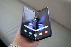 """Samsung says an improved Galaxy Fold will launch in September Samsung's foldable phone is back on. An improved version of the Galaxy Fold will be ready to launch in """"select markets"""" beginning in September, Samsung announced. The company said it… Smartphone Display, Smartphone Deals, Tech Updates, New Technology, Screen Protector, Galaxy Note, Galaxies, Charger, September"""