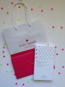 """NEW Kate Spade Refill Address Paper Fits 6 Ring Organizers 3 3/4"""" X 6 3/4"""" Pages"""