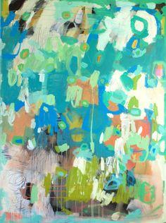 """Secret Shake  36"""" by 48"""" on gallery wrap"""