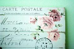 Postcard: Just a little note