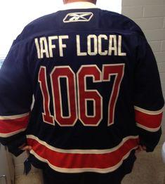 c0ea83a0170 #IAFF #local #IAFFLocal #1067 #custom #hockey #jersey #hockeyjersey #twill