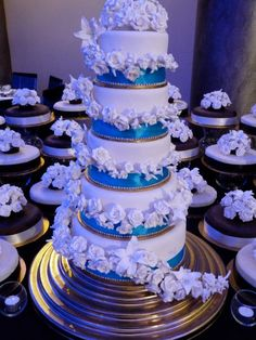 Grand Royale African Wedding Cake- 50 Tiers!