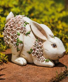 This Bunny Figurine is perfect! #zulilyfinds