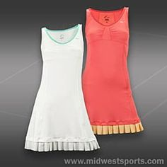 Those little ruffles are so cute! Nike Tennis Dress, Tennis Clothes, Athletic Fashion, Sport Wear, Dress Outfits, Dresses, Knit Dress, Nike Women, Running Gear