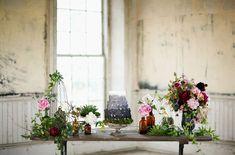 """Fall Inspired Botanical Shoot"" (Green Wedding Shoes)"