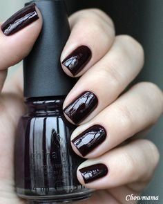 Nail Chow_mama: China Glaze Evening Seduction