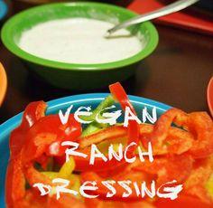 Vegan Ranch Dressing #yummy #recipe #diy #veggies