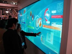 High Performance #Interactive Multi Touch Video Wall Systems #InteriorDesign