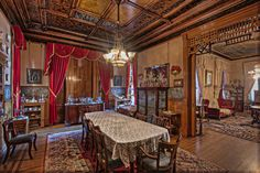 butte mansions, mt | Copper Kings Dining Room - Butte Montana Photograph
