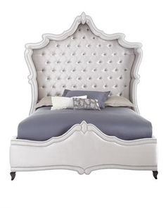 Antoinette King Bed by Haute House at Neiman Marcus.