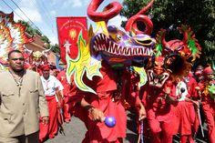 Corpus Christi.  Los Diablos Danzantes de Yare salen a mostrar su devoción FOTOS