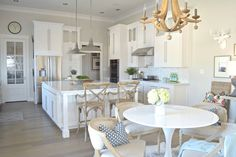 Welcome to our transitional modern white kitchen tour! I sure hope you enjoy the tour of this entire space as much as we enjoy using it! Best White Paint, White Paint Colors, Interior Paint Colors, Paint Colors For Home, House Colors, Gray Paint, Wall Colors, Kitchen Paint, Kitchen Decor
