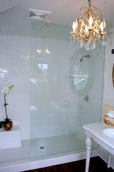Glass Shower Door +