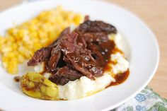 Crockpot Mississippi Roast - 5 ingredients and everyone loves it!