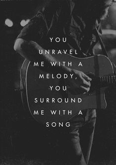 """""""You unravel me with a melody, You surround me with a song."""" - Bethel Music, Just beautiful! Christian Song Lyrics, Christian Quotes, Worship Songs, Praise And Worship, Worship Quotes, Cool Words, Wise Words, Bethel Music, Bethel Lyrics"""