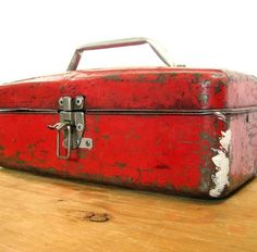 love an aged toolbox