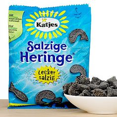 Sorry, but this just sound gross! and I like licorice.  Katjes Soft Salty Fish Licorice   World Market