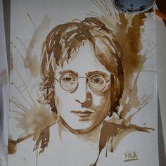 John Lennon  Caffè su carta 2015  MELA - Carmela Garro
